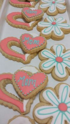 Mother's Day Cookies!