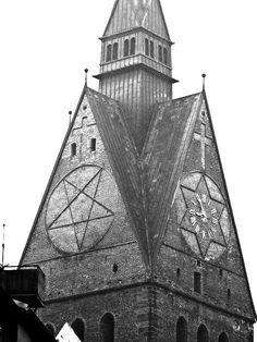 #church #hanover #pentagram #starofdavid #cross