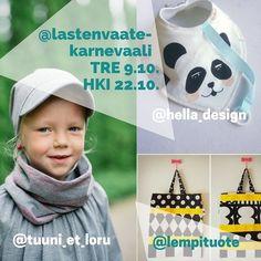Uusi #karnevaaliarvonta on täällä! Arvomme 3x30  alennuskuponkeja syksyn tapahtumiin: yksi @tuuni_et_loru - yksi @hella_design - ja yksi @lempituote -tuotteisiin. Voittaja saa valita haluaako kupongin Tampereen (9.10.) vai Helsingin (22.10.) tapahtumaan. JAA tämä kuva omalla Insta-tililläsi tägeillä #karnevaaliarvonta @lastenvaatekarnevaali sekä #tampere tai #helsinki. Toisen arvan saat jos tägäät kaverin tämän kuvan kommenttihin. Arvonta jatkuu pe 26.8.16 asti voittajat ilmoitetaan sen…