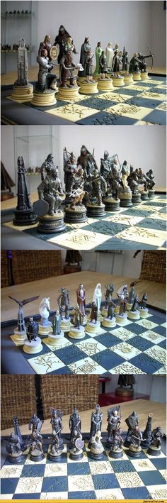 This chess set. It is beautiful.