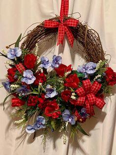 Rustic Wreaths, Beach Wreaths, Country Wreaths, Spring Wreaths, Easter Wreaths, Summer Wreath, Wreaths For Front Door, Door Wreaths, Grapevine Wreath