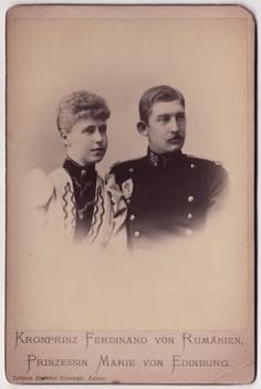 Ferdinand and Marie. Queen Victoria Family, Granddaughters, Bucharest, Ferdinand, Descendants, Alexandria, Edinburgh, Georgia, Royalty