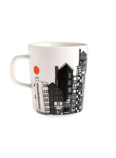 Marimekko tableware – cups and mugs. Explore the collection! Marimekko, Ceramic Materials, Decoration, Kitchen Dining, Kitchen Decor, Home Accessories, Dinnerware, Stoneware, Home Goods