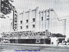 Cinema Metro, que ficava na Praça Saens Peña, Tijuca. Anos 50. Cinema mencionado no comentário sobre a Casa Sloper e o Cinema Metro Tijuca. www.skyscrapercity.com