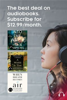 Experience the joy of being told a story. Start your free month trial. Subscribe for $12.99/month in Canada.