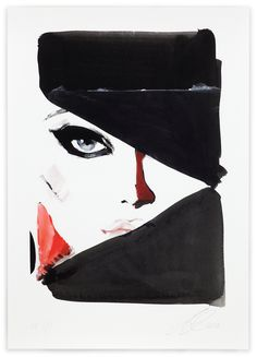 David Downton, PQP?, 2010. Limited Edition FIG Print. Signed and numbered by the artist. Price subject to currency exchange rate at the time of ordering. $575.00.