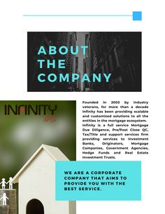 Infinity IPS specializes in loan due diligence for the acquisition, sale, valuation, or securitization of loan portfolios, for both performing and non-performing assets/portfolios. #MortgageDueDiligence #MortgagePostCloseQC #MortgageAuditing #MortgageDueDiligenceService #MortgageDueDiligenceFirm