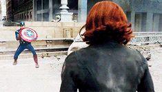 Steve Rogers / Captain America and Natasha Romanoff / Black Widow || The Avengers