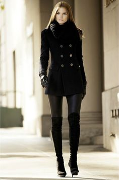 40 Ways to Wear Knee High Boots Outfit this Winter # fashion Outfits 40 Ways to Wear Knee High Boots Outfit this Winter Winter Boots Outfits, Winter Fashion Outfits, Look Fashion, Spring Outfits, Fashion Models, Casual Outfits, Autumn Fashion, Womens Fashion, Fashion Trends