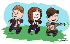 [ Doctor Who + Peanuts ]