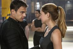 Find images and videos about divergent, Shailene Woodley and theo james on We Heart It - the app to get lost in what you love. Divergent Factions Quiz, Watch Divergent, Divergent 2014, Divergent Theo James, Divergent Trilogy, Divergent Insurgent Allegiant, Tobias, Erudite, Divergent Fandom