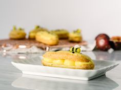 Lilikoi (Passion Fruit) Éclair Recipe || Fork To Belly x FFF — Fix Feast Flair