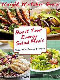 FREE - Weight Watcher Guru Boost Your Energy Salad Meals Points Plus Recipes Cookbook (Weight Watcher Guru Series) by Candice J. Lewis, http://www.amazon.com/gp/product/B0096S9JE0/ref=cm_sw_r_pi_alp_0kNsqb12G05S3