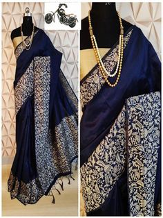Stylish Look Multi Color Raw Silk Weaving Saree With Rich Pallu -Style Array Designer Sarees Collection, Saree Collection, Green Sari, Trendy Sarees, Designer Blouse Patterns, Soft Silk Sarees, Work Sarees, Silk Sarees Online, Saree Dress