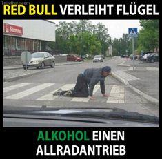 Red Bull <-> Alkohol