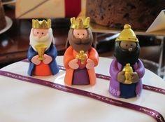 Reyes Magos fondant