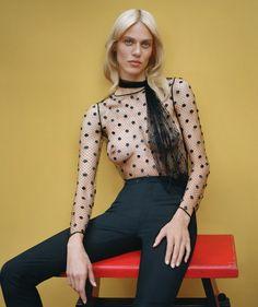 Aymeline Valade by Thomas Whiteside for Harper's Bazaar Spain November 2015 1