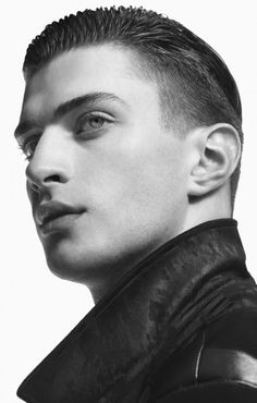 River Island Studio Goes Dark for Modern Fall/Winter 2014 Collection Classic Hairstyles, 2015 Hairstyles, Best Short Haircuts, Haircuts For Men, Matthew Bell, Mens Hair Trends, Fall Winter 2014, Summer 2015, Hair Photo