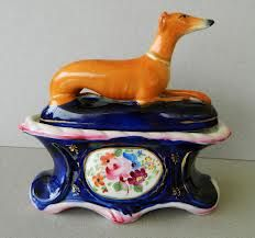 staffordshire pottery greyhounds - Google Search