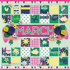 In Review: 2016-03 by Two Tiny Turtles Lucky Day Collection by Traci Reed March - Sweet Shoppe Gallery