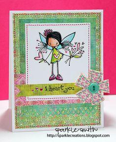 Sparkle Smith: I heart You Phoebe Ketto Card