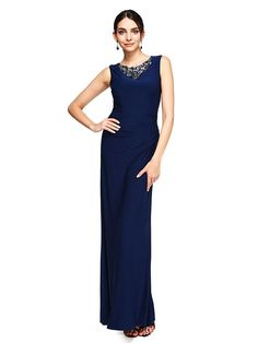 Cool Evening dresses 2017 TS Couture® Prom Formal Evening Dress - Elegant Sheath / Column Jewel Floo... Check more at http://24myshop.tk/my-desires/evening-dresses-2017-ts-couture-prom-formal-evening-dress-elegant-sheath-column-jewel-floo/