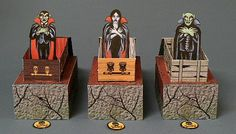 Pop-Up Vampires paper craft.