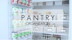 Pantry Organization - Affordable, simple , Easy