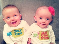 Hey, I found this really awesome Etsy listing at http://www.etsy.com/listing/155291837/twin-shirts-buy-one-get-one-free