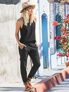 Pants and Bottoms: City Collection | Athleta. Chelsea cargo pant with sandals