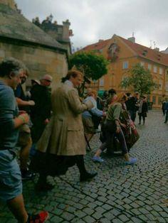 Outlander shooting in Prague