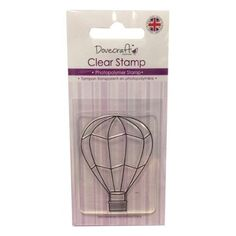 Dovecraft Clear photo-polymer Stamp HOT AIR BALLOON