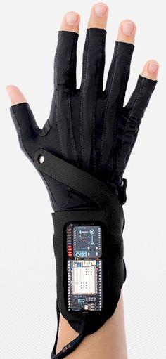 Extraordinary music tech: Kris Halpin is a tester for Imogen Heap's Mi.Mu Gloves. Watch, listen, boggle http://radiotogo.blogspot.co.uk/2015/02/kris-halpin-and-his-magic-mimu-gloves.html