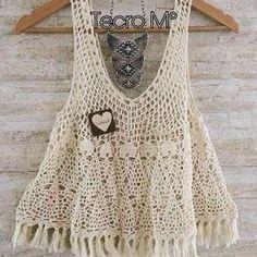 Best 12 Crochet cute summer lace tank top for girl – SkillOfKing. Top Crop Tejido En Crochet, Crochet Tank Tops, Crochet Tunic, Crochet Clothes, Pull Crochet, Diy Crochet, Crochet Top, Bikinis Crochet, Finger Crochet