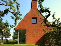 Ever Seen a Clay-Topped Farmhouse Built With Brick