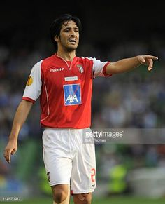 Custodio of SC Braga during the UEFA Europa League Final between FC Porto and SC Braga at the Dublin Arena on May 18 2011 in Dublin Ireland FC Porto...