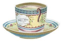 Free Vintage Clip Art - Vintage Tea Cup