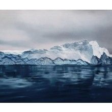 I want this. Greenland Print, Chasing the Light by Zaria Forman