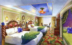 Tinker Bell Suite, Tokyo Disneyland Hotel, Tokyo Disney Resort