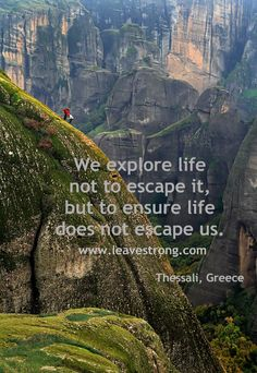 Explore more.  Ensuring life doesn't escape us!  Moving far away from this shithole:)