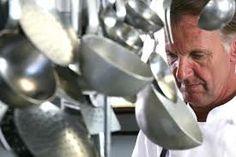 Chef Maurilio Garola at the restaurant Ciau del Tornavento, Treiso (Piedmont)