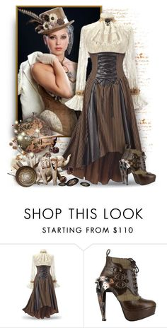 """""""Steampunk Fashion"""" by debraelizabeth ❤ liked on Polyvore featuring Trilogy and HADES"""