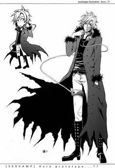 Prototype of Kuro..... He looks mature ^_^  Anime-Servamp