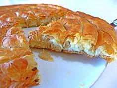 Greek Tiropita (Cheese Pie) Spiral Recipe