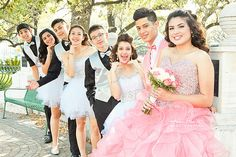 Quinceaneras Damas and Chambelanes. Quinceaneras photography by Juan Huerta | Flickr - Photo Sharing!