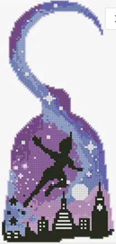 Dragon Cross Stitch, Cross Stitch Kits, Cross Stitch Designs, Diy Perler Beads, Perler Bead Art, Minecraft Pattern, Cross Stitch Silhouette, Modele Pixel Art, Perler Bead Disney