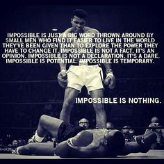 """- impossible is nothing - #CondeGroups 2013 """"Im Possible"""" #workingforyou"""