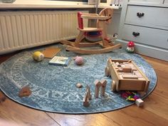 Kids playground - unstyled and in use