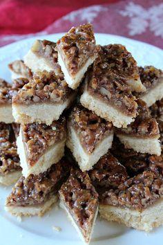 Pecan Diamond Cookie Bars