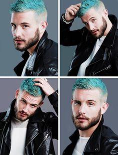 Mens Hair, Green